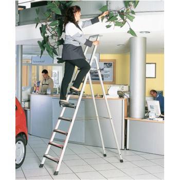 LM-Stufen-Stehleiter Leiterlänge 2,40 m 2 x