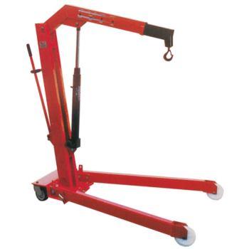 Hydraulischer Werkstattkran 500 kg Tragf. Fahrgest