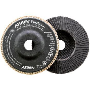 Ø 125mm Fächerschleifscheibe Platinum multigrain Korn 40
