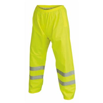 Warnschutz-Regenhose Klasse 1 gelb Gr. XXL
