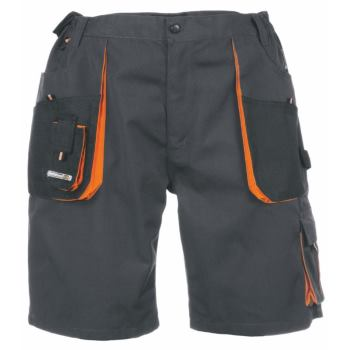 Shorts dunkelgrau/orange Gr. 60