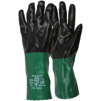 Chemikalien-Schutzhandschuhe aus Neopren/Nitril, G