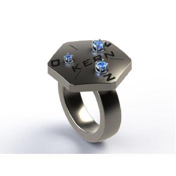 Kalibrierring für Diamant- und Moissanittester JD-