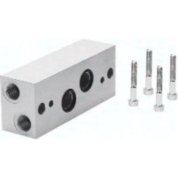 NAW-3/8-2E-ISO 11307 Winkelanschlussplatte