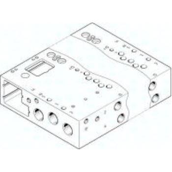 VABM-L1-14W-G14-12-GR 573507 ANSCHLUSSLEISTE