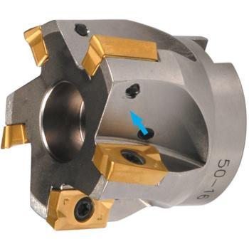 Eckfräser 90 Grad für APKT/APHT16 80 mm mit Innenk ühlung Z=7