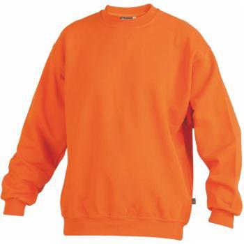 Sweatshirt orange Gr. 6XL