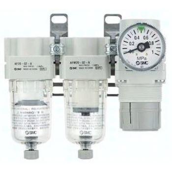 AC20C-F02G-SV-C-A SMC Modulare Wartungseinheit