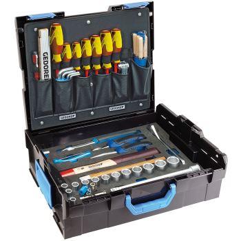 -Sortimo L-BOXX 136 mit Sortiment Handwerker , 58-tlg