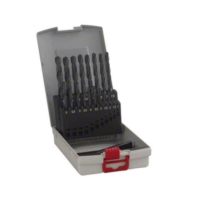 bosch metallbohrer set hss r probox 19 teilig din 338. Black Bedroom Furniture Sets. Home Design Ideas