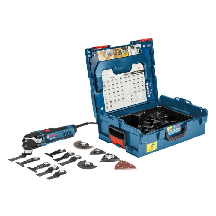 bosch multifunktionswerkzeug multi cutter gop 40 30 mit zubeh r l boxx. Black Bedroom Furniture Sets. Home Design Ideas