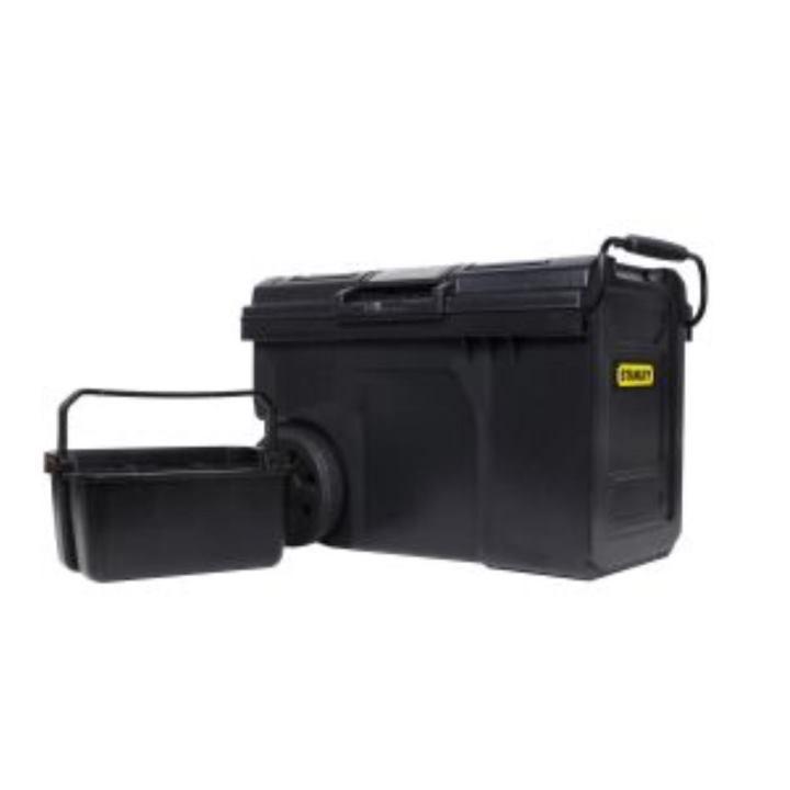 stanley mobile montagebox werkzeugkoffer 62x38x42cm. Black Bedroom Furniture Sets. Home Design Ideas