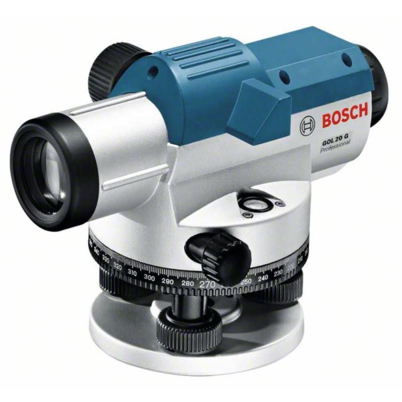 Optisches Nivelliergerät GOL 20 G. Baustativ BT 16