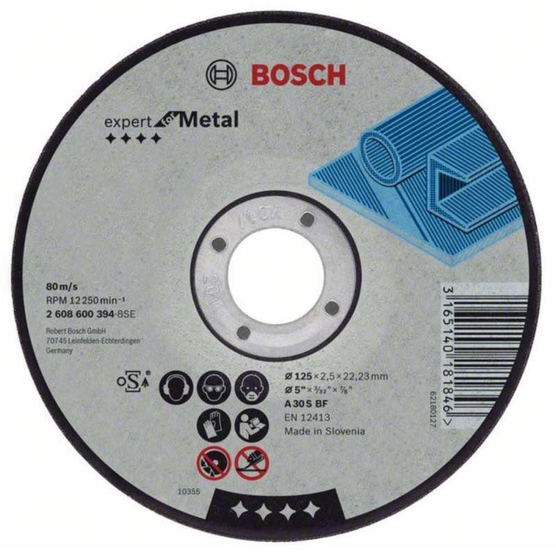 Trennscheibe gerade Expert for Metal AS 46 S BF, 1