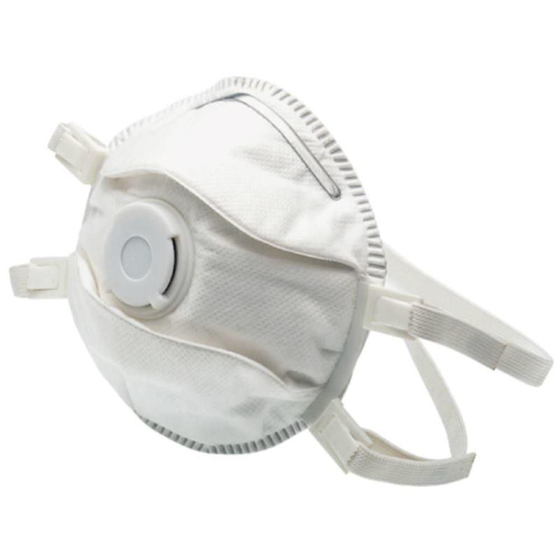 Feinstaubfiltermasken mit Ventil FFP 3 Box | 5er Pack