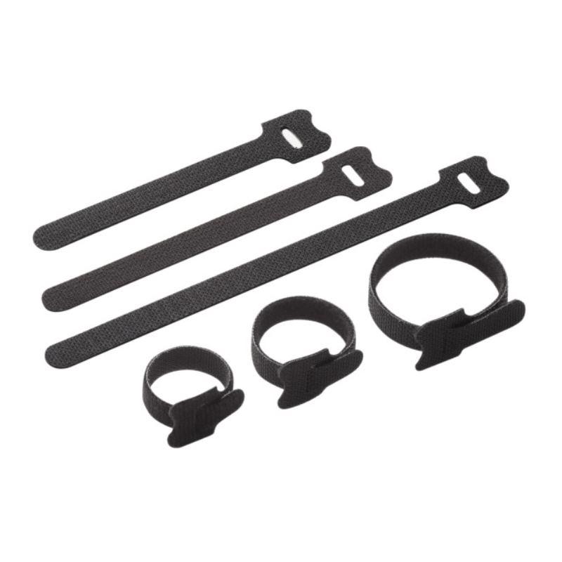 Klett-Kabelbinder-Sortiment 45-teilig