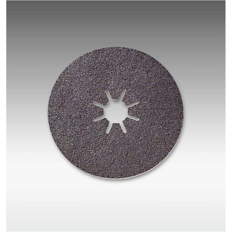 Scheibe Sternloch B. Durchmesser 115 mm. P80 Ser4700