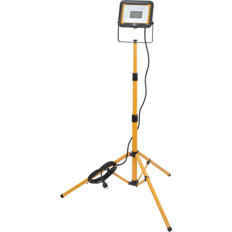 Stativ LED Strahler JARO 5000 T / LED Baustrahler mit höhenverstellbarem Stativ