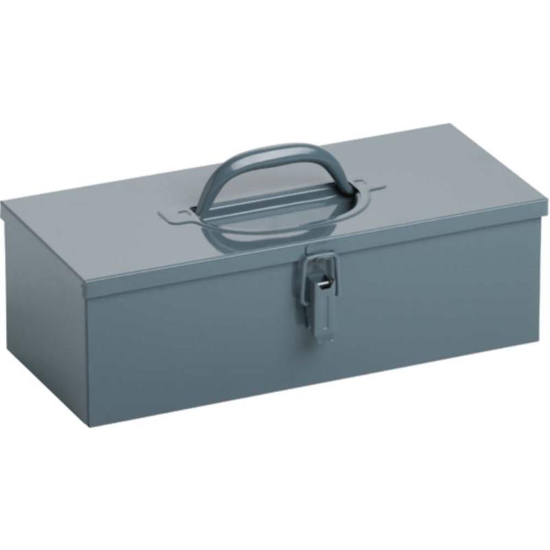 Werkzeugkasten aus Stahlblech 400 x 170 x 125 mm