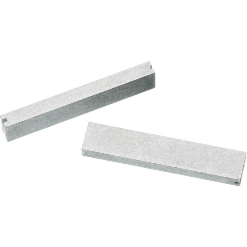 Backensatz aus Aluminium 125 mm Backenbreite