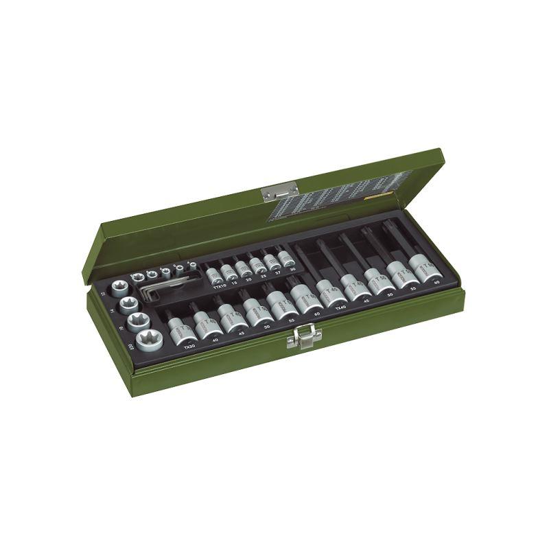 TX-Steckschlüssel-Spezialsatz, 29-teilig