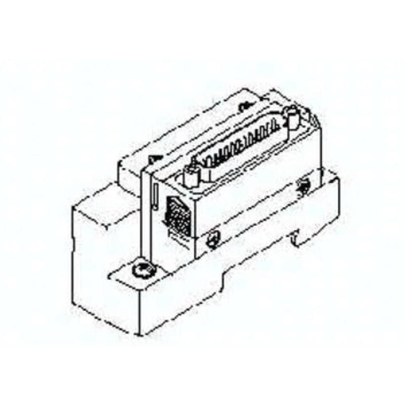 SV1000-51D2-33AR-C8 SMC Endplatte D-Seite D-Sub ho