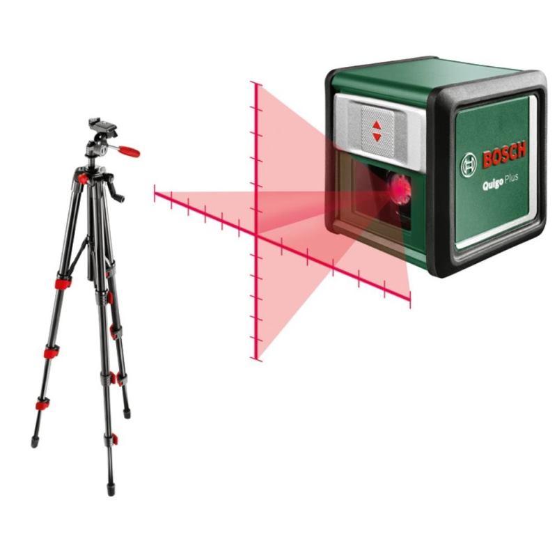 7 Meter Kreuzlinien-Laser Quigo Plus inkl. Stativ