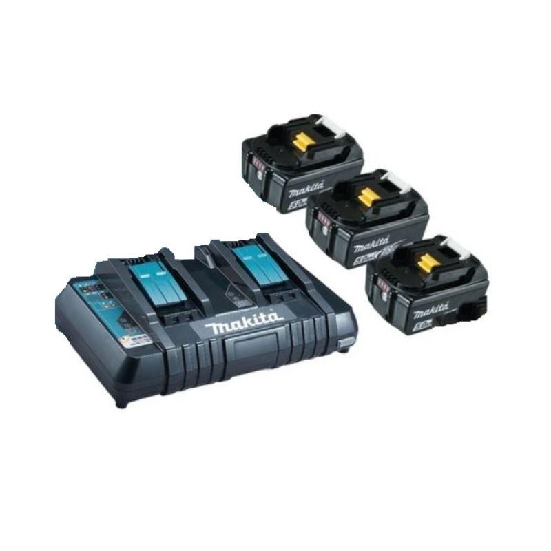 Ladegerät+ Ersatzakku Kit Li 18V 5.0 Ah BULKPower Source