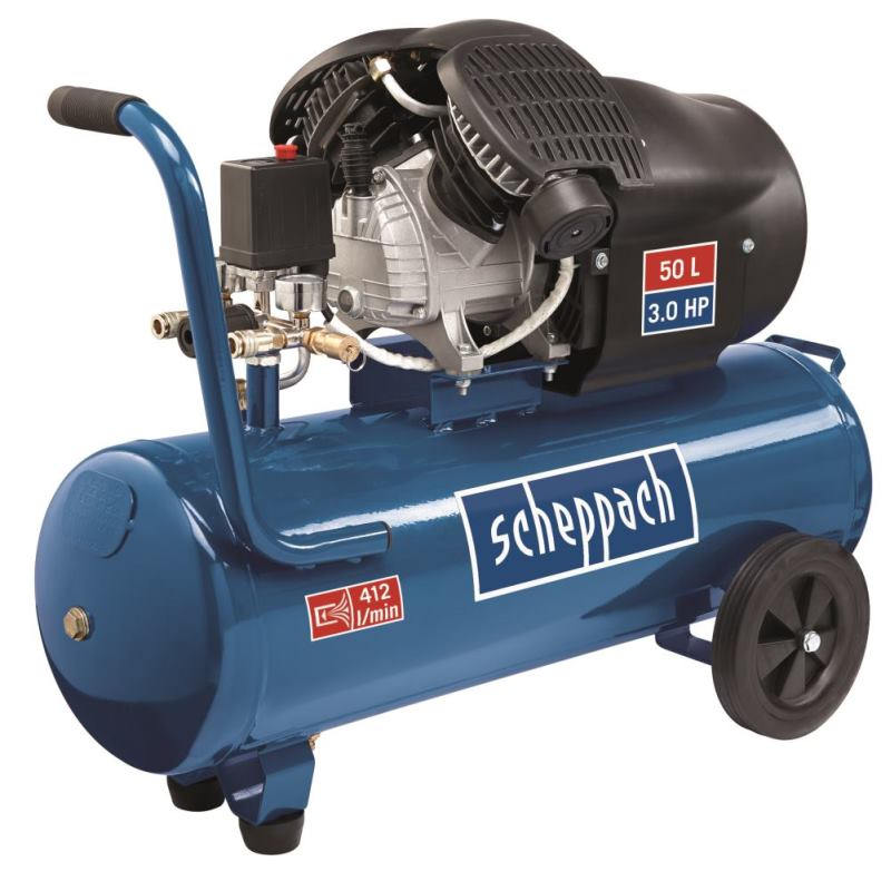 Kompressor HC53DC scheppach - 230V 50Hz 2200W