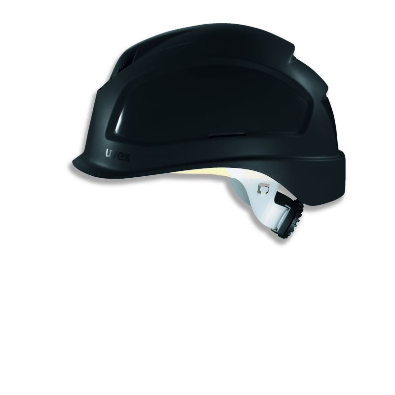 Schutzhelm pheos BSWR Farbe schwarz mit Belüftung