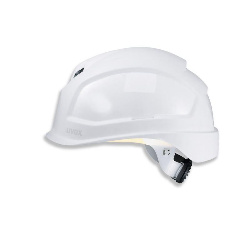 Schutzhelm pheos BSWR Farbe weiß mit Lüftung