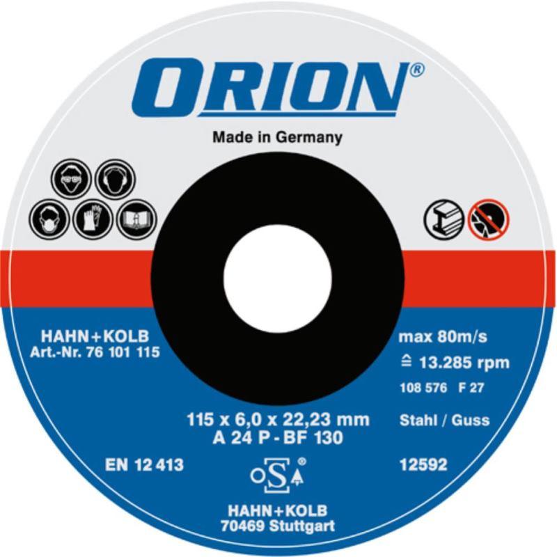 Orion Schruppscheibe Fur Metall 180x6x22 Mm Harte Schei Svh24 De