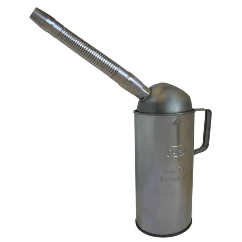 """Weißblech-Flüssigkeitsmaß """"eichfähig"""" mit Auslauf Typ FMF-T 2000 2 Liter"""