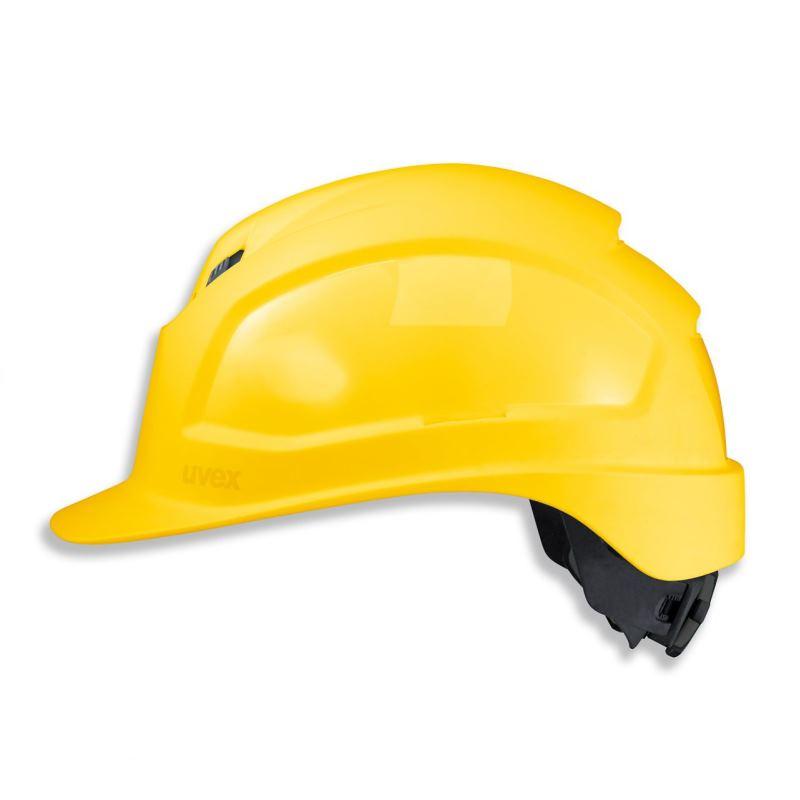 Schutzhelm pheos IES Farbe gelb mit Belüftung