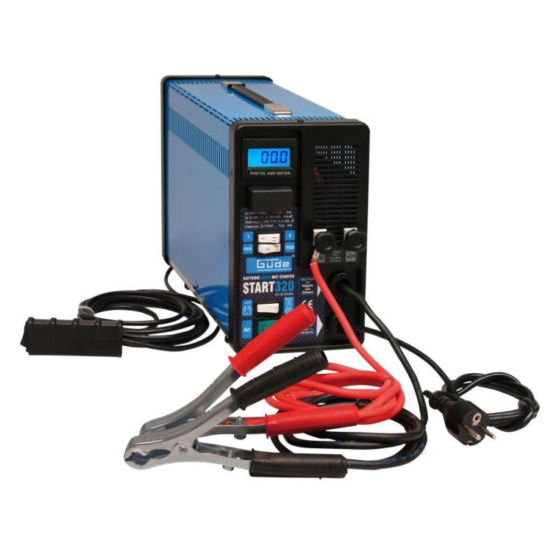 Batterielader START 320 mit digitalem Amperemeter