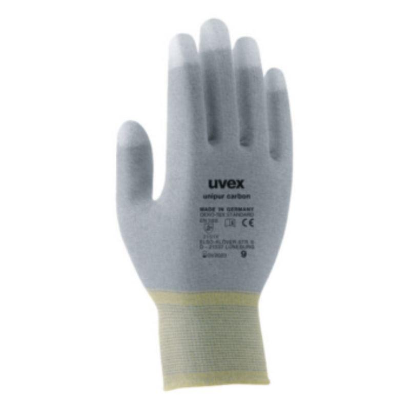 Montageschutzhandschuh unipur carbon, Größe 10