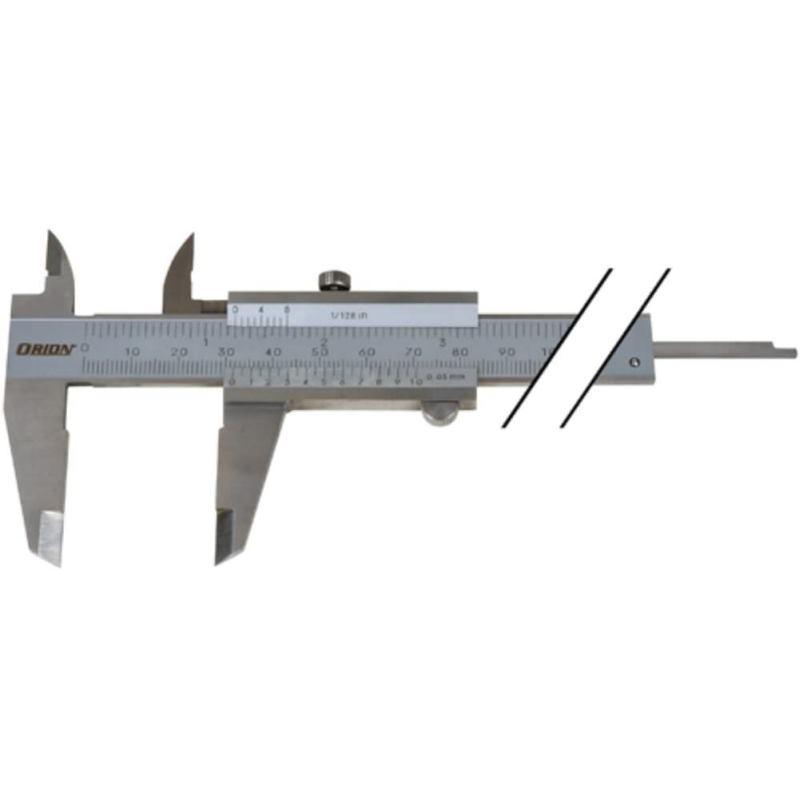 Messschieber INOX 150 mm mit Feststellschraube