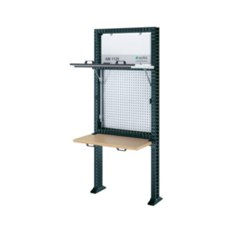 Arbeitsinsel 1125 Set K BxHxT 1040x2500x140 mm Rahmen RAL 7016