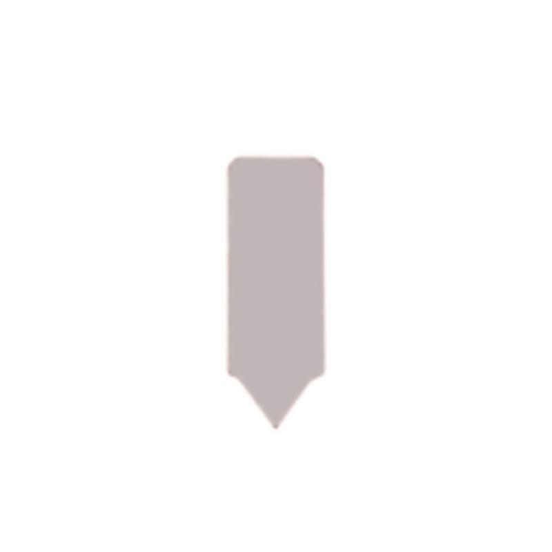 Hartmetall-Mitnehmer-Platten, Größe 9,5x3,2, Rechts- und Linkslauf