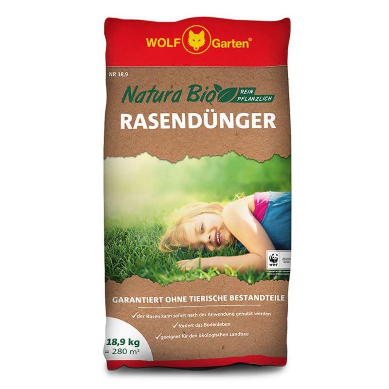 NR 18.9 NATURA Rasendünger | 18.9kg | für 280 m²