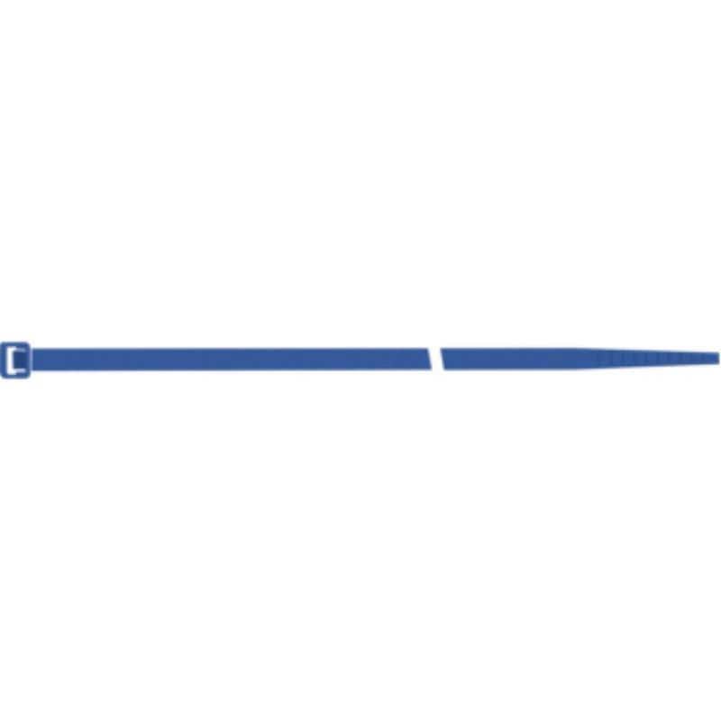 Kabelbinder 100 Stück im Beutel 4,5 x 280 mm, Farbe blau