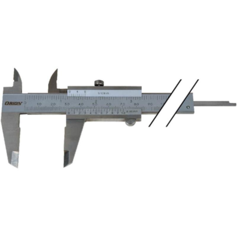 Messschieber analog 300 mm mit Tiefenmaß flach
