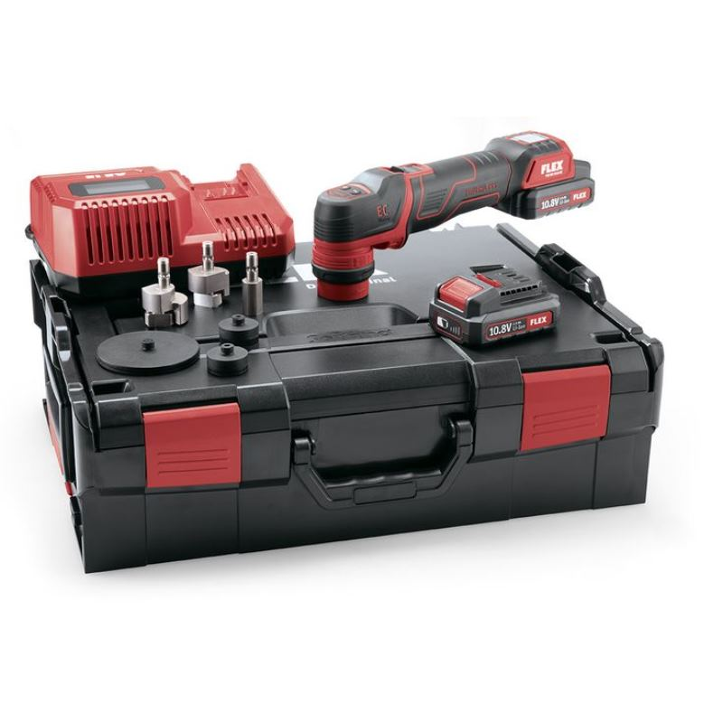 10,8V Akku Polierer PXE 80 10.8-EC/2.5 Set | 2x Akku 2,5 Ah im Koffer