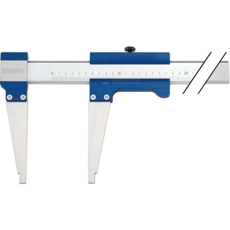 Leichtmetallmessschieber 500 mm Messschenkel 150