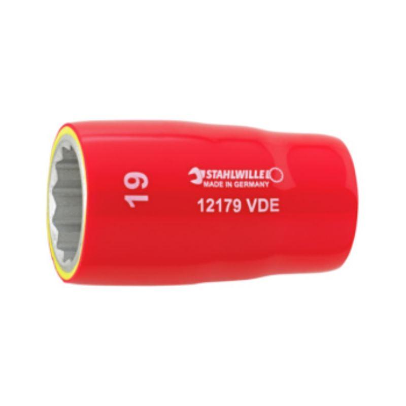 """VDE Einsatz 1/2"""" SW 22 mm 1000 V isoliert .."""