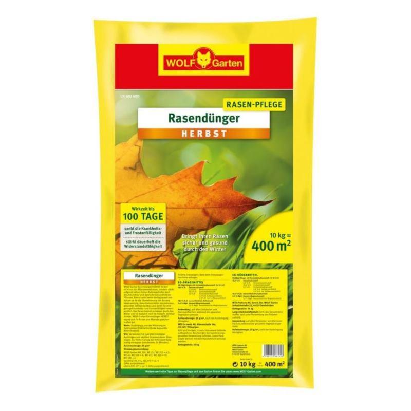 Rasendünger Herbst LK-MU 400 | 10 kg