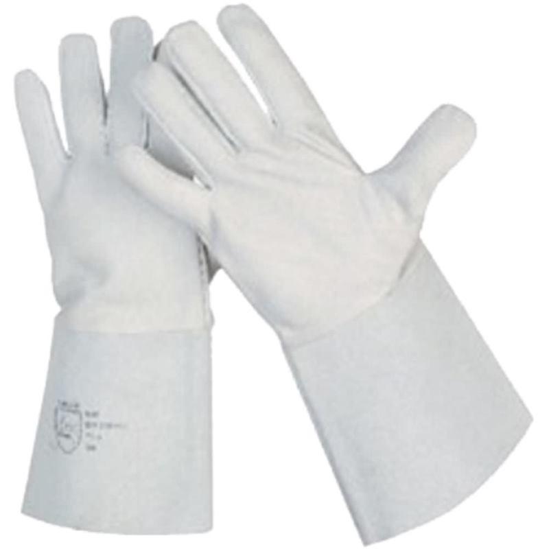 Schweißer-Schutzhandschuhe Nappaleder. Größe 11