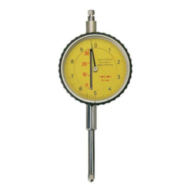Messuhr mit langem Schaft 0,01mm Skalenteilungswert 3mm Messspanne stoßgeschützt