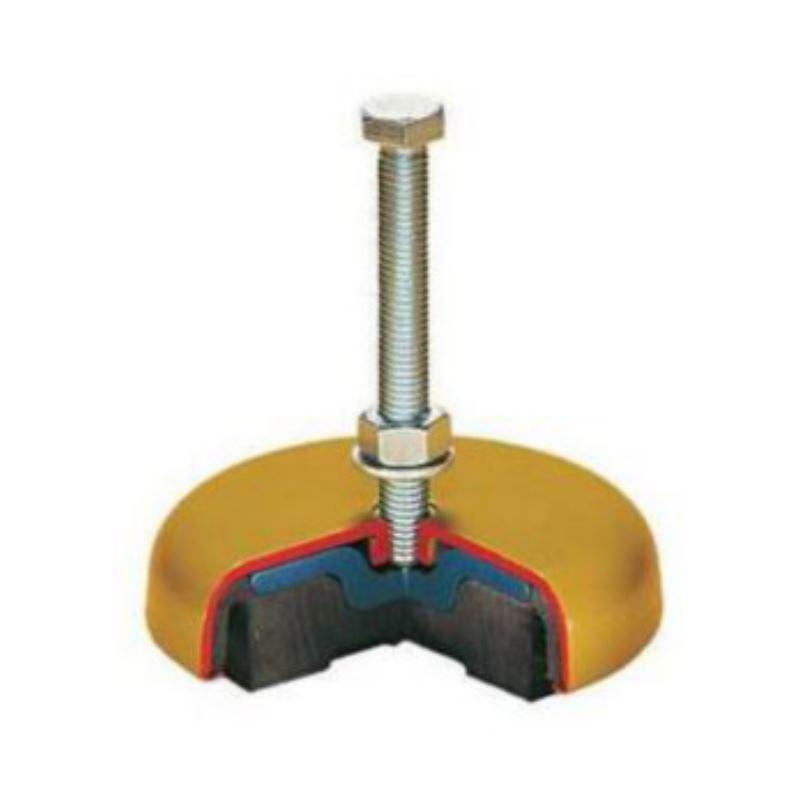 Elast. Maschinenlagerung elemente Größe 1 80 mm