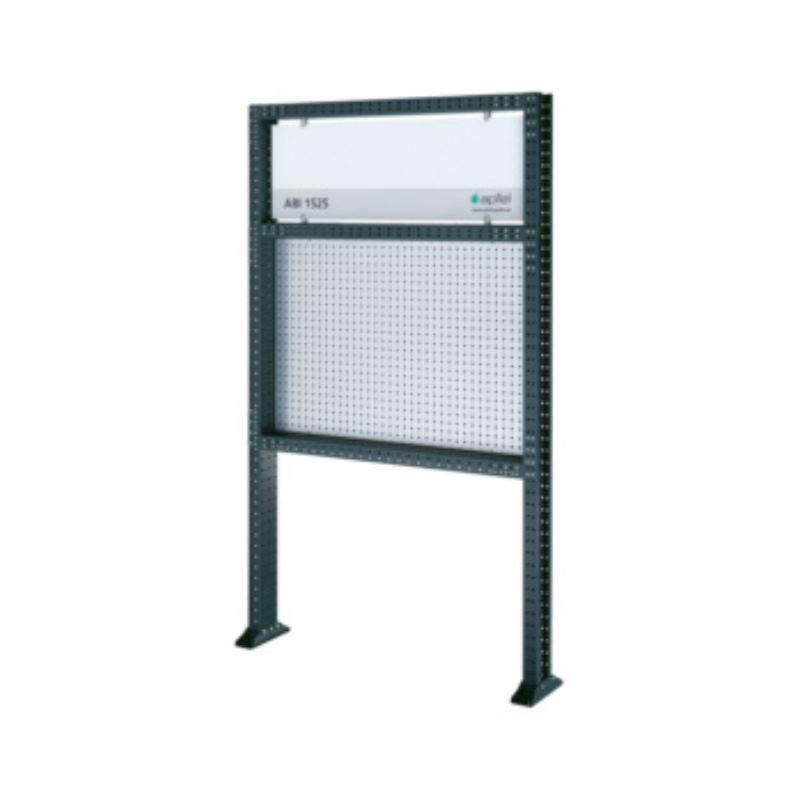 Arbeitsinsel 1525 Basic BxHxT 1490x2500x140 mm Rahmen RAL 7016